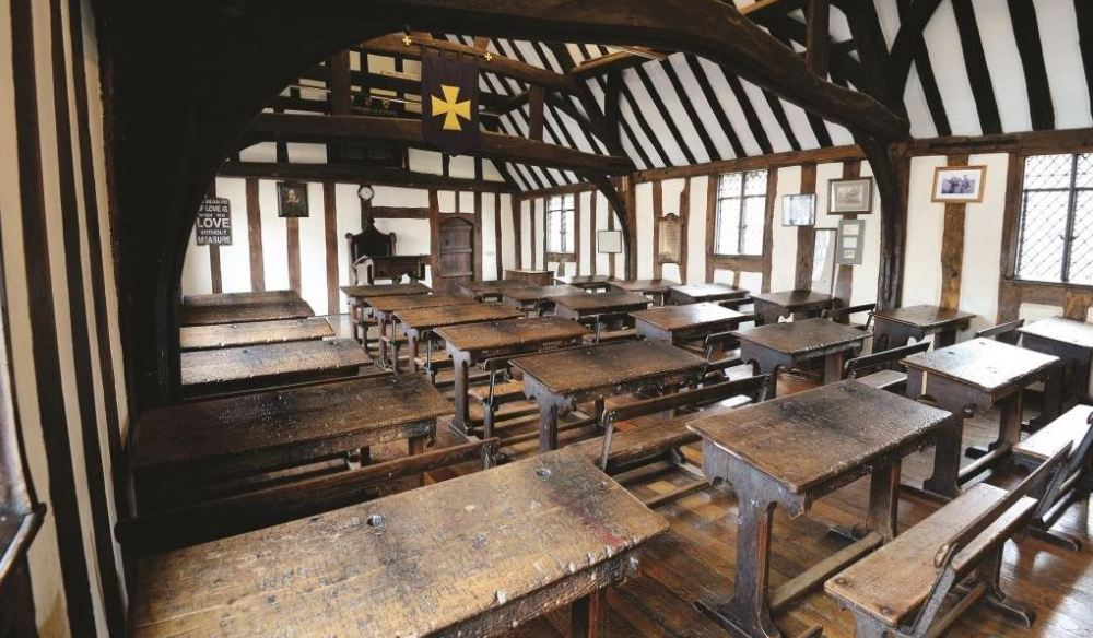shakespeare-school-room