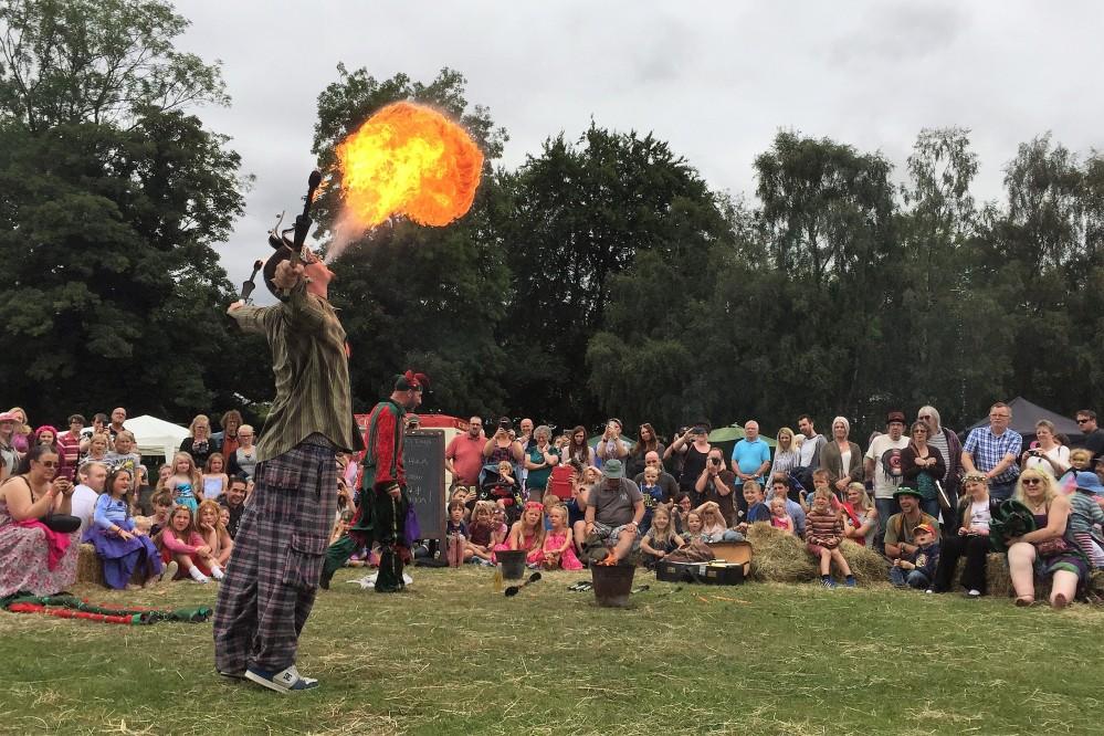 Llangollen Faery Festival Storyteller